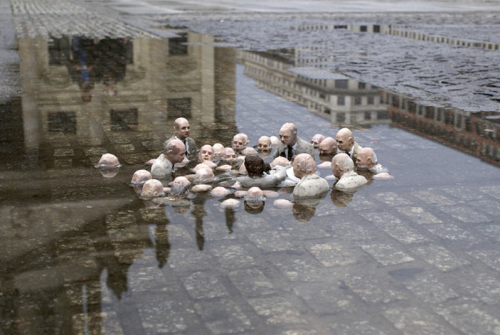 Artwork and Photography by Isaac Cordal