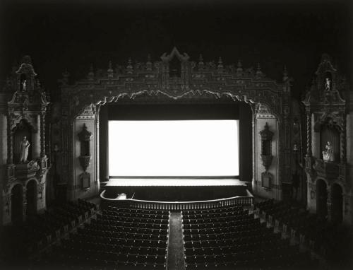 Hiroshi Sugimoto. Movie Theatre-Akron Civic, Ohio, 1980