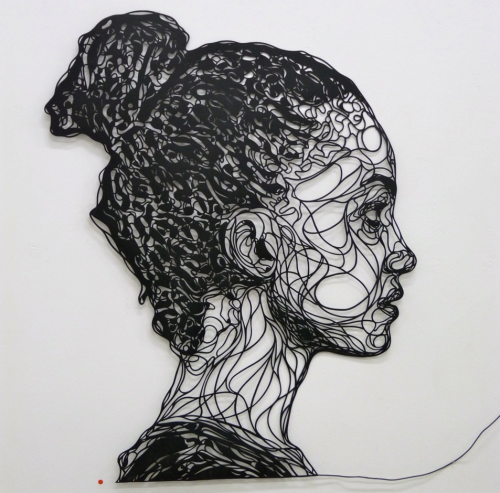 kris trappeniers - paper cut artwork.