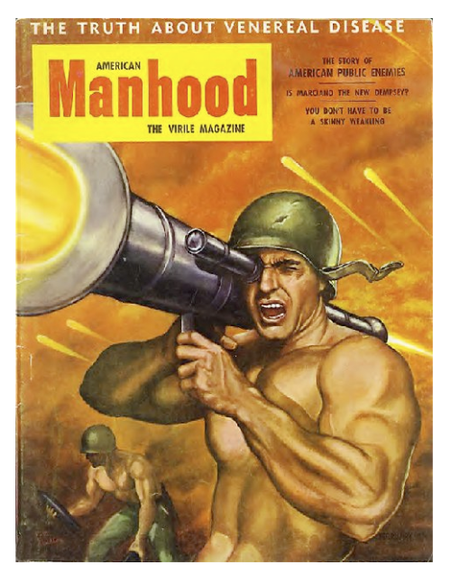 "American Manhood, ""The Virile Magazine"" 1950's"