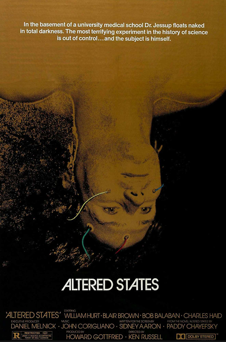 ken russell. altered states. 1980
