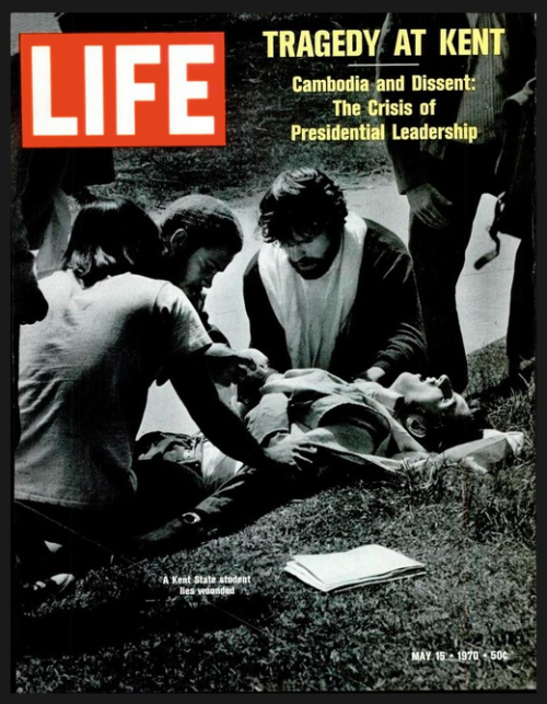 Life. Death at Kent University. 1970.