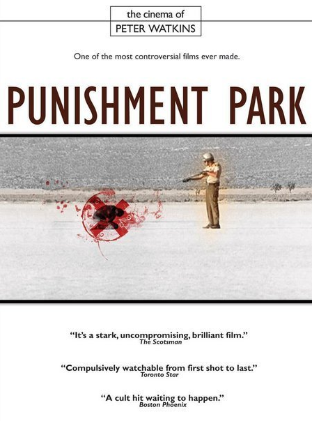 Punishment Park. Movie Poster.
