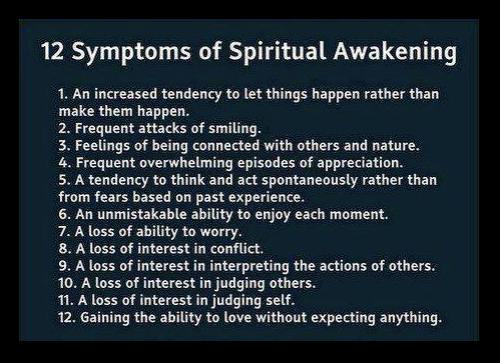 Spiritual Awakening.