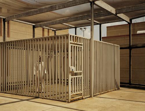 "Death Row Outdoor Recreational Facility, ""The Cage"". Mansfield Correctional Centre. Ohio. Taryn Simon."