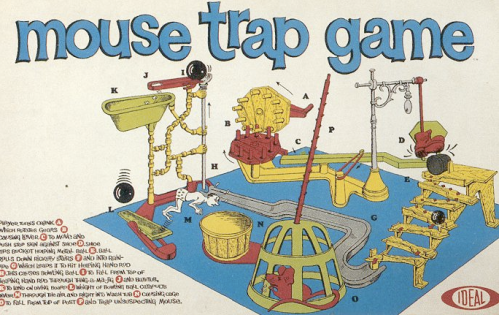 1963 Mousetrap Box Cover