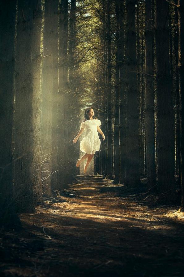 levitating girl wallpaper - photo #4