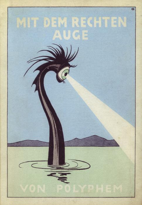 Oskar Garvens, book cover, Germany, 1925