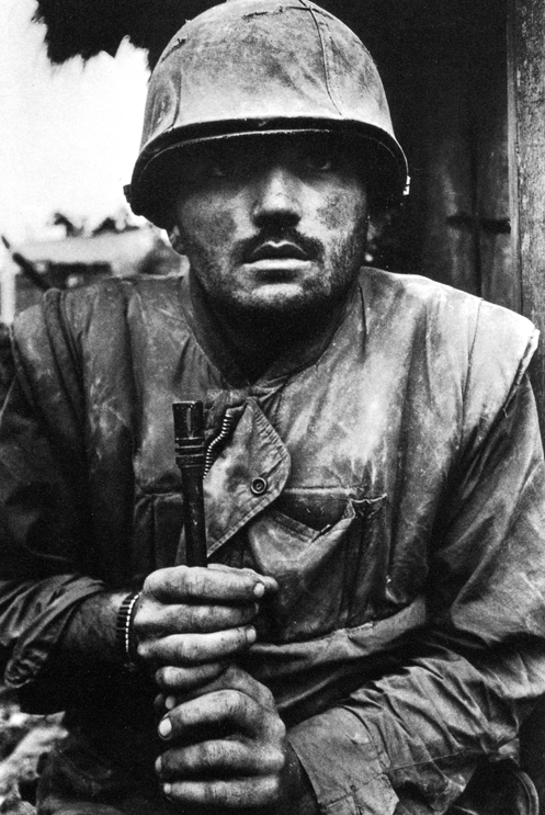 Don McCullin. Shell Shocked Soldier