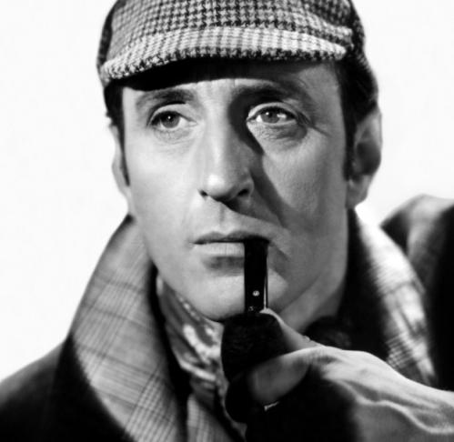 Basil as Sherlock