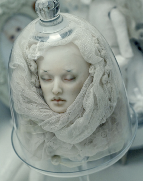 head in a bell jar