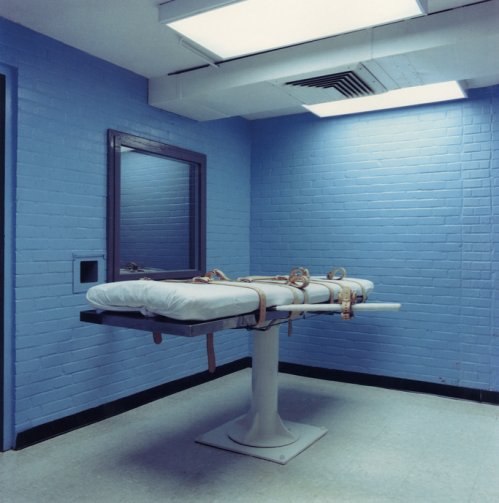 Lethal Injection Chamber, Texas State Prison, Huntsville, Texas