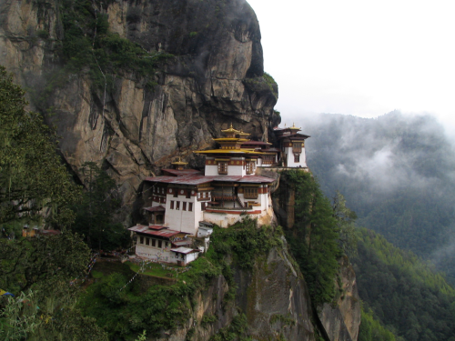 The Taktshang Monastery,