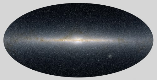 Mosaic. The Infrared Milky Way. Includes the light of half a billion stars