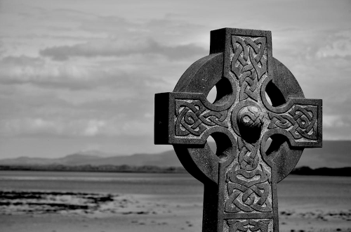 Clew Bay Celtic Cross by Martina Fagan
