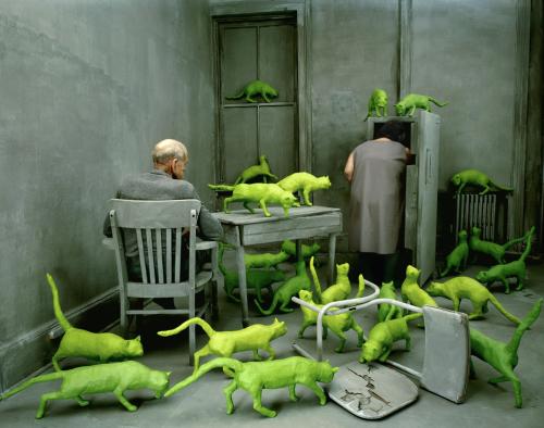 sandy skoglund radioactive cats