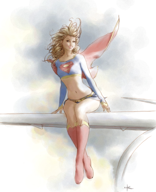 supergirl by keron grant
