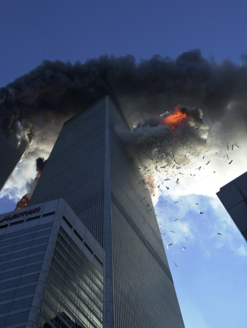 September 11th 2001 New York.