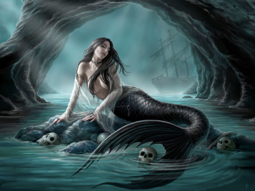 Siren by Anne Stokes